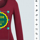 Woo commerce Tshirt designer tool - User friendly design options